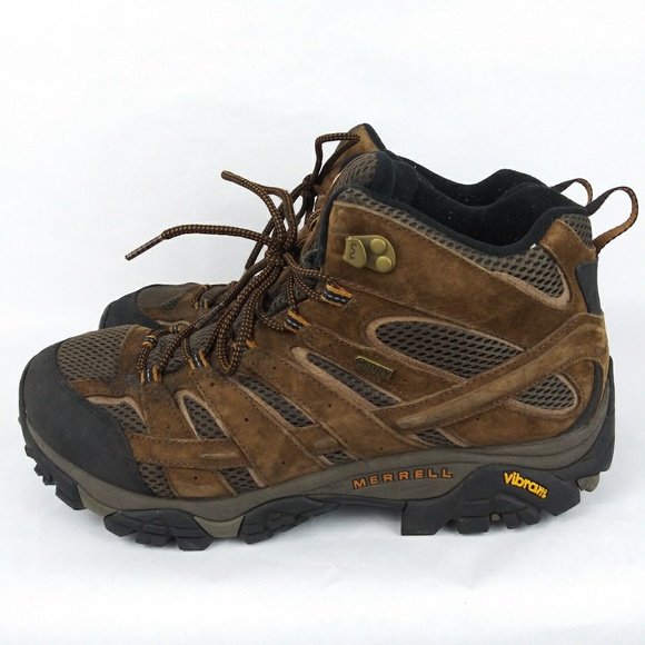 b10e8244 Merrell Earth Moab Waterproof Hiking Trail Boot 12